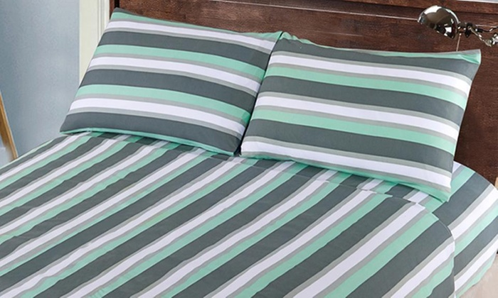 Groupon Shopping: Juego de sábanas estampadas en modelo y tamaño a elección. Incluye despacho