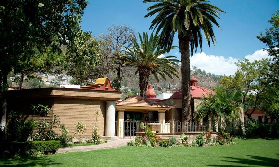 Hotel Spa Los Olivos: Oaxaca: desde $539 por 1, 2 o 3 noches para dos + desayuno + 1 clase de yoga en Hotel & Spa Los Olivos