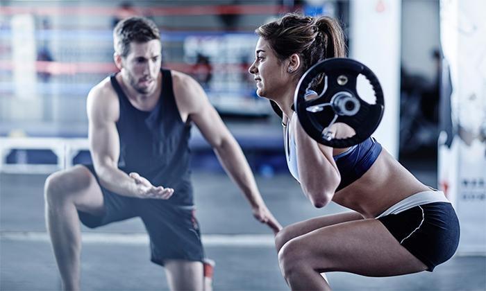 GO Fitness - GO Fitness: Desde $180.000 por mes de gimnasio + entrenamiento semipersonalizado de 12, 16 o 20 sesionesen GO Fitness