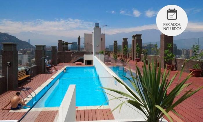 Santiago Apartamentos Centro - Santiago Apartamentos Centro: Desde $26.500 por 1, 2 o 3 noches para dos + botella de bienvenidaen Santiago Apartamentos Centro