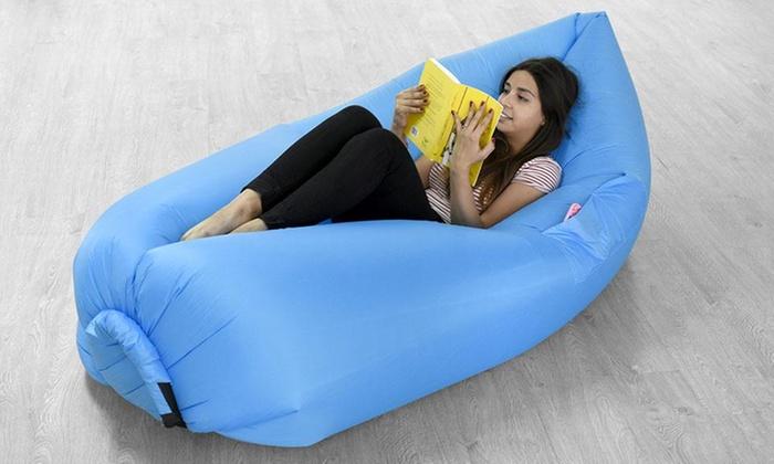 Groupon Shopping: Colchón inflable outdoor en color a elección. Incluye despacho
