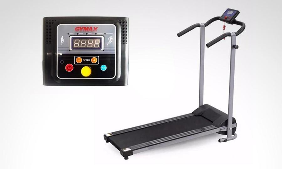 Groupon Shopping: Caminadora trotadora eléctrica plegable walking con 6 programas + altavoz. Incluye envío