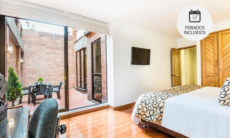 Fontana Plaza Travelers (RNT: 18923): Bogotá: desde $155.000 por 1 o 2 noches para dos + desayuno + cena con opción a noche románticaen Fontana Plaza Travelers