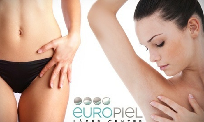 : Adiós al rastrillo: Sesión de depilación láser de diodo con 65% de descuento en Europiel