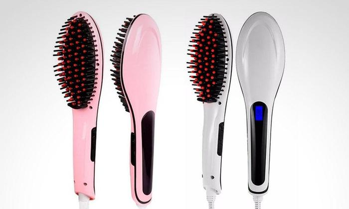 Megim Peru - Megim Peru: 1 o 2 cepillos iónicos alisadores de cabello en color a elección con Megim Perú
