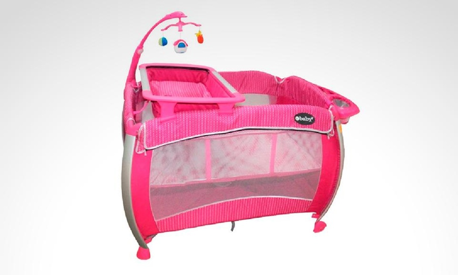 EBABY SOCIEDAD ANONIMA CERRADA - EBABY SAC: Cuna corral rosada con opción a delivery con Ebaby