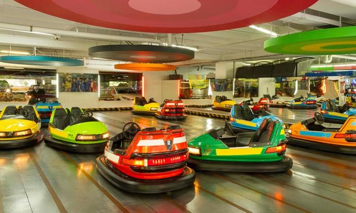 Happy City: $19.900por bono de $40.000 para acceso a atracciones y maquinitasen Parques de Diversiones Happy City