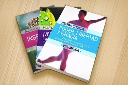 Outlet Book: $7.000 en vez de $22.252 por pack con 3 libros de autoayuda en Outlet Book