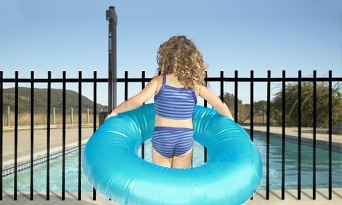 Piscinería: $69.990 en vez de $129.990 por Seguro Australiano para reja de seguridad de piscinas. Despacho incluido