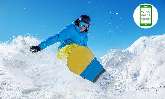 Windsurfing Chile: 1 o 3 días de arriendo de equipo de ski o snowboarden Windsurfing Chile
