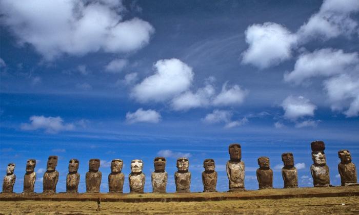 Groupon Travel (Rapa Nui): Verano en Rapa Nui: 4 noches para dos desde $489.000 por persona en hotel a elección + aéreos + traslados + desayunos. Elige fecha