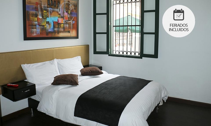Hotel Boutique La Tua Casa (RNT: 48897): Bogotá: 1, 2 o 3 noches para dos con opción a plan románticoen Hotel Boutique La Tua Casa
