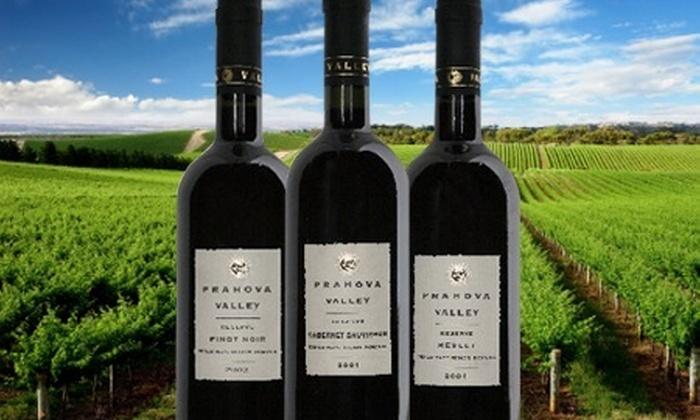 : $35.000 en vez de $70.000 por botella de vino tinto rumano reserva Prahova Valley con Timiscol