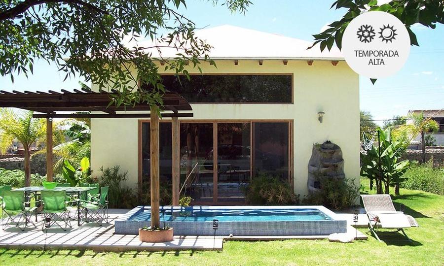Villas Premier (Tequisquiapan): Tequisquiapan: 2 noches para 9 o 10 personas + acceso a instalaciones en Villas Premier