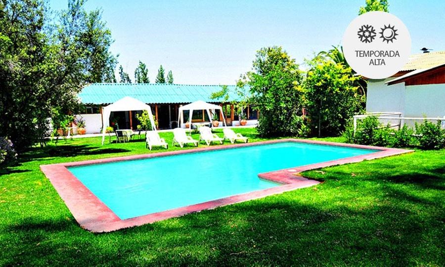 Hotel & Centro De Eventos Los Naranjos: Mallarauco: desde $39.900 por 1 o 2 noches para dos adultos con opción a dos niños en Hotel & Centro de Eventos Los Naranjos