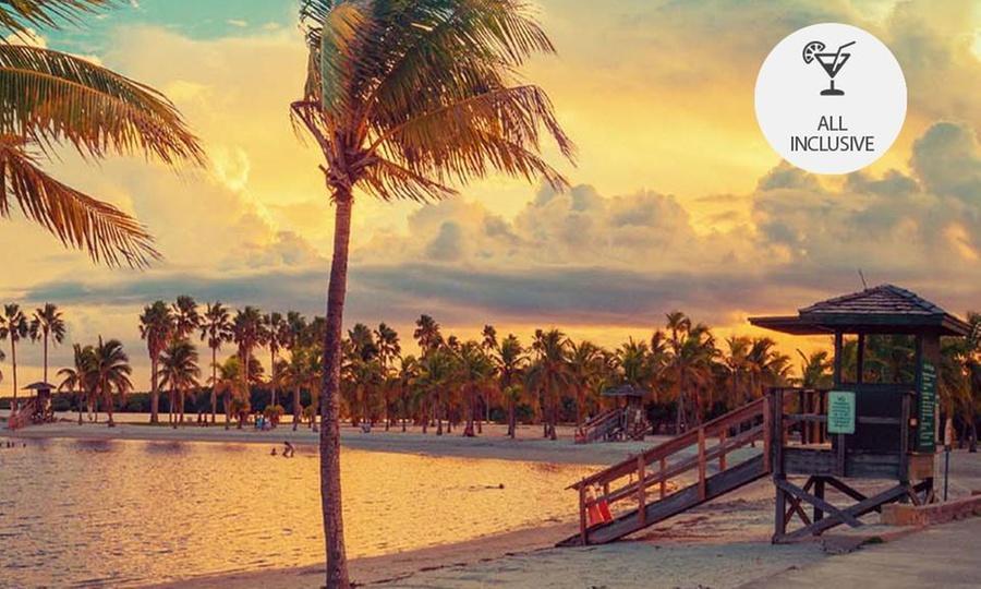 Caribbean Vacations: Orlando, Miami y/o Crucero en Bahamas: desde $6,121 por 3, 5, 6 u 8 noches para cuatro + alquiler de auto con Caribbean Vacations