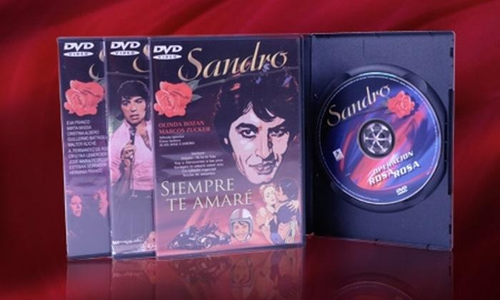 Laser Disc: $10.599 en vez de $21.240 por pack de 4 películas DVD de Sandro con despacho en Laser Disc