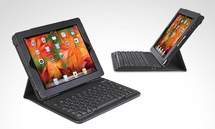 Shopping México: Funda y teclado Bluetooth para iPad 1 , 2, 3 y 4 con envío