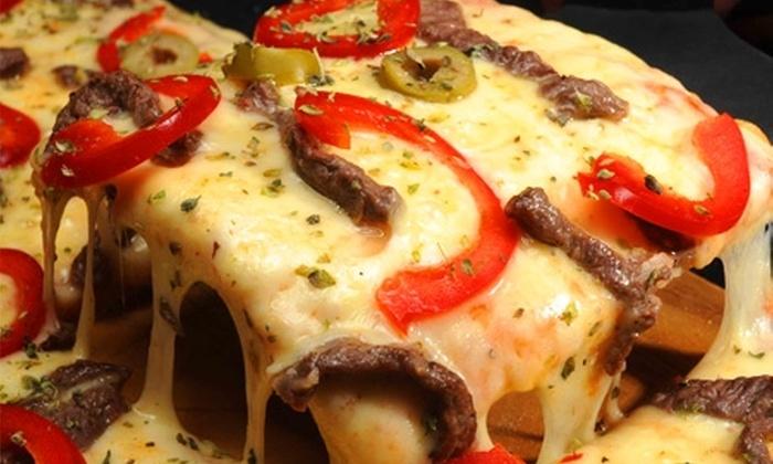 Único Pizza Bar - Único Pizza Bar: Paga desde $7.900 por todo Tenedor libre en pizzas con 7 variedades a elegir en Único Pizza Bar