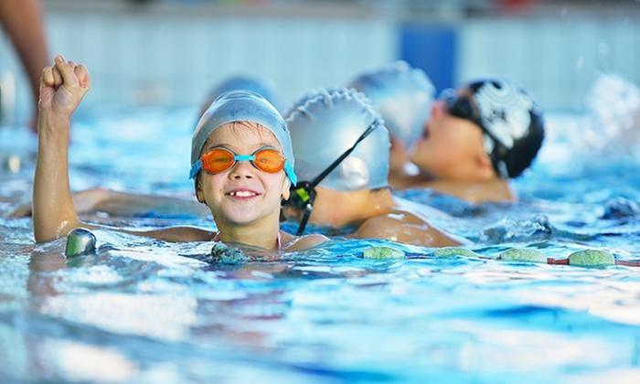 Escuela De Natacion Atlantic Center: 4, 8 o 12 clases o curso intensivo de natación con opción a transporteen Escuela De Natación Atlantic Center