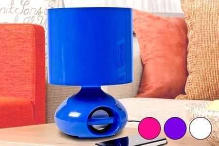 Groupon Shopping (Lámpara): Paga desde $19.990 por 1 o 2 lámparas iHome con despacho. Elige color