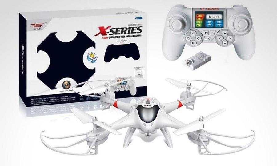 Groupon Shopping: Drone Cuadricopter X-Series X300-2C con cámara HD en color a elección. Incluye despacho