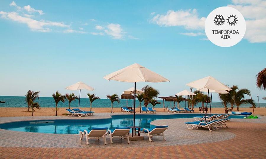 Nauti-K Beach Hotel: Zorritos: desde S/.199 por 2, 3 o 4 noches para dos o cuatro + desayuno buffeten Nauti-K Beach Hotel
