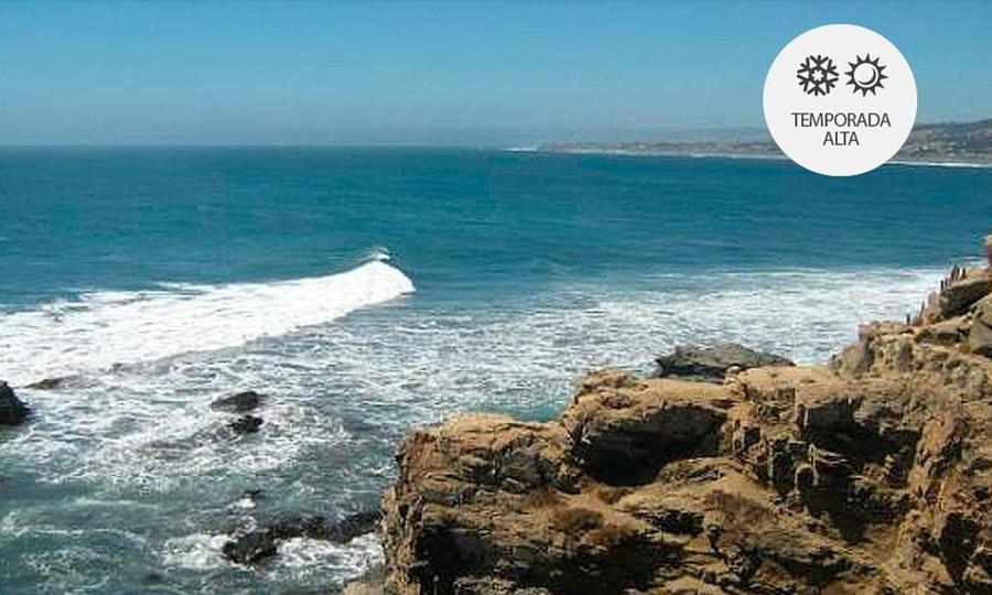 Cabañas Verde Mar: Pichilemu: desde $89.900 por3 o 4 noches para dosen Cabañas Verde Mar