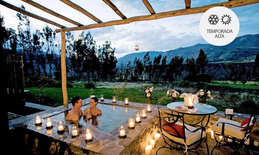 Las Casitas del Colca: Desde S/.449 por 2, 3 o 4 noches para dos+ desayuno buffet con opción a actividades en Las Casitas del Colca