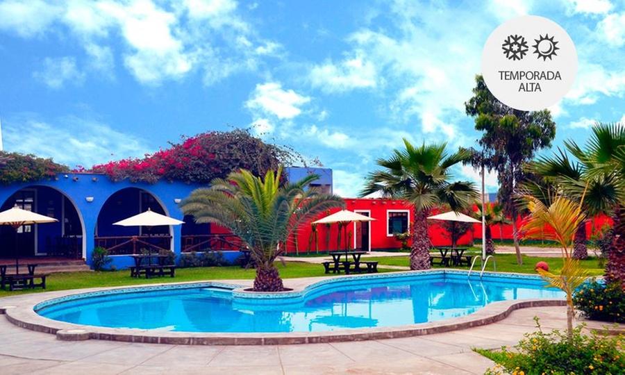 La estancia Sur: Chincha: desde S/.119 por 1, 2 o 3 noches para dos en villa matrimonial + desayuno con La Estancia Sur
