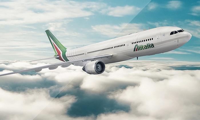 Alitalia: Paga $1.000 y participa por 2 pasajes a Milán, Roma y Barcelona con Alitalia por la compra del Calendario Groupon 2017