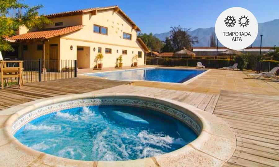 Hotel Viña Monasterio: Los Andes: desde $38.000 por 1, 2, 3 o 4 noches para dos + desayunos con opción a temporada alta en Hotel Viña Monasterio