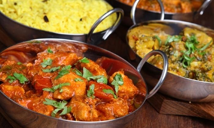 Delhi Darbar - Delhi Darbar: Paga $4.000 por consumo de $8.000 para dos en toda la carta de comida india con Delhi Darbar