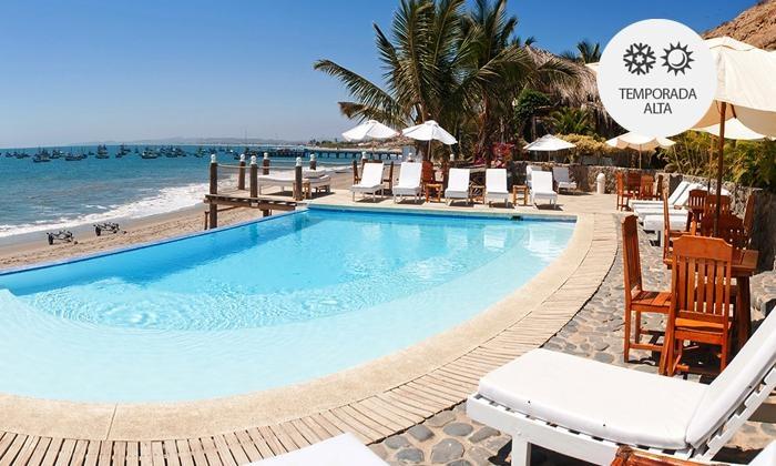 Hotel Grandmare & Bungalows: Máncora: desde S/.545 por 2 o 3 noches para dos + desayunos + 30 min de kayaken Hotel Grandmare & Bungalows