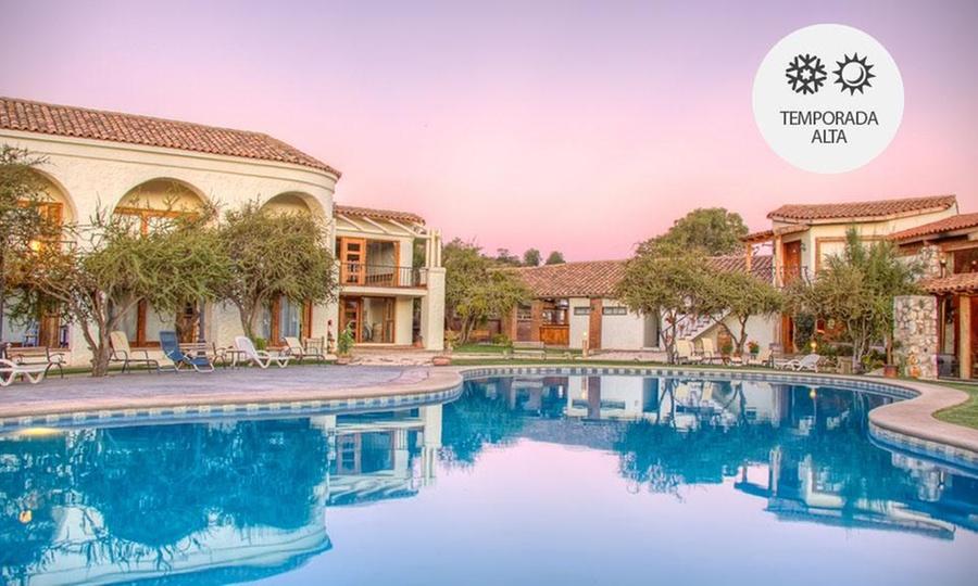 Hotel Casa Blanca Spa & Wine: Casablanca: desde $64.000 por 1 o 2 noches para dos + desayuno buffet + spa con opción a verano enHotel Casa Blanca Spa & Wine