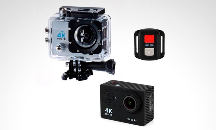 Otto Ware: Cámara y filmadora acuática 4K Ultra HD con Wi-Fi + control remoto con Otto Ware