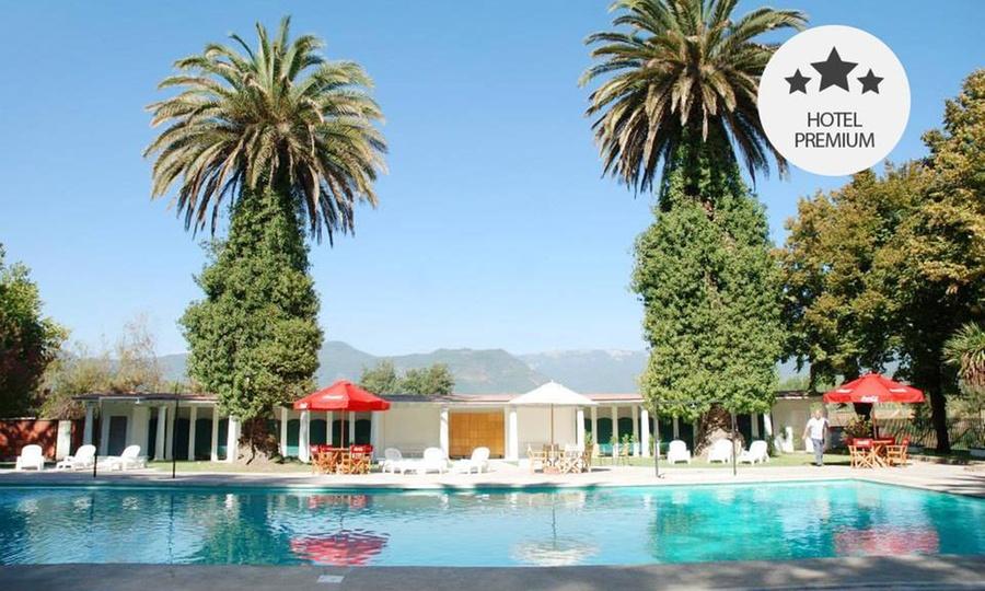 Termas de Panimavida: 2, 3, o 4 noches para dos + pensión completa + piscinas termales + tina de hidromasajes en Termas de Panimávida