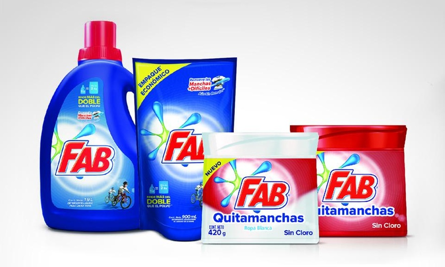Shopping Colombia: Pack FAB Masterbrand con Unilever®. Incluye envío