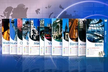 Groupon Shopping (pack city guías): Paga desde $9.990 por pack de city guías con planos de capitales turísticas. Incluye despacho