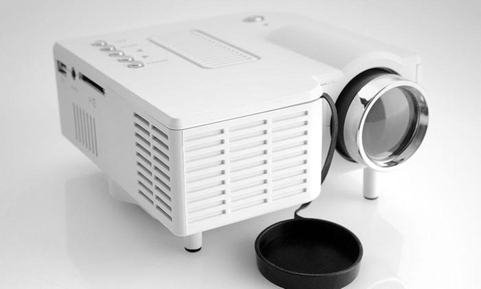 Groupon Shopping: Proyector led mini UC28. Incluye despacho