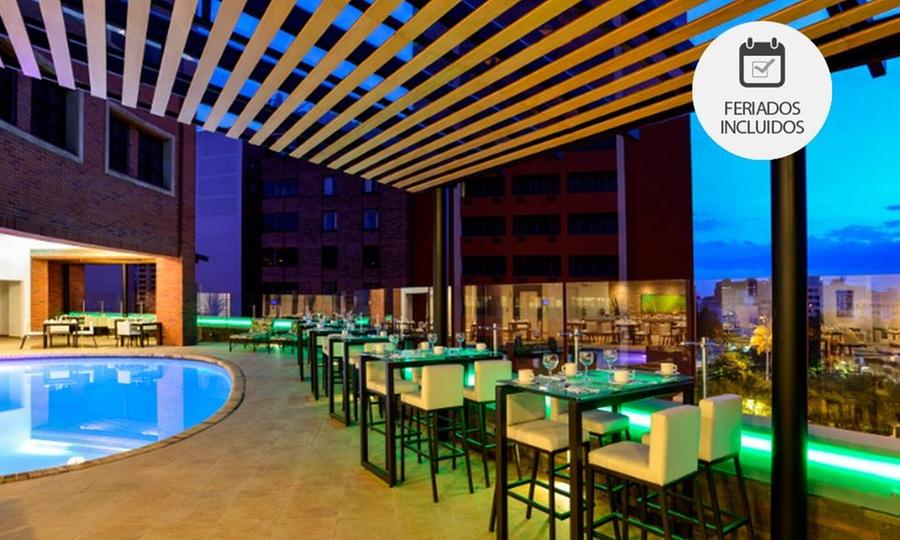 HOTEL DANN CARLTON CALI (RNT: 24395): Cali: 1, 2 o 3 noches para 2 personas con opción a noche apasionante con tabla de quesos o cena en Hotel Dann Carlton Cali