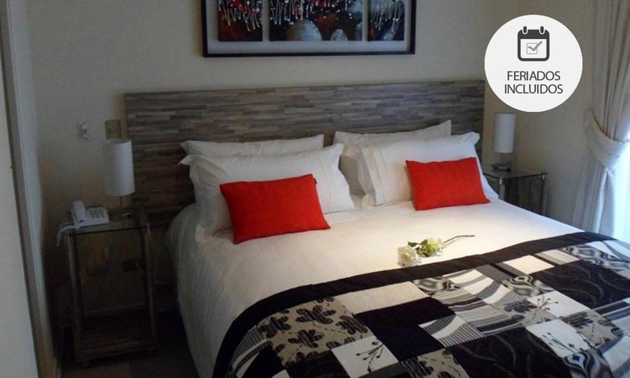 Agustina Suite: Santiago: 1, 2 o 3 noches para dos en departamento + late check out con opción a feriado y vacaciones en Agustina Suite