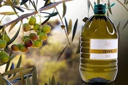 Oliwe: $15.600 en vez de $31.200 por bidón de 5 litros de aceite de oliva extra virgen Oliwe con despacho