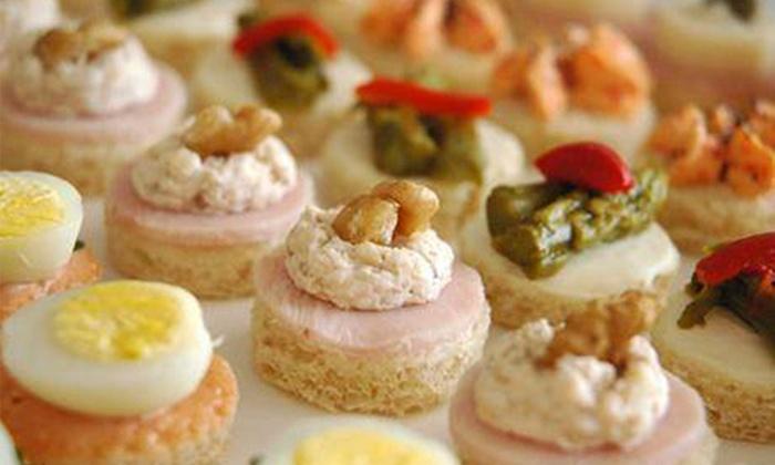 Dulce aleph groupon del d a groupon - Variedad de canapes frios ...