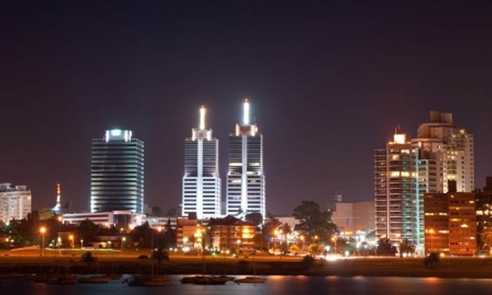 Groupon Travel (Montevideo): Montevideo a tu alcance: desde $235.000 por persona por 3 noches para dos en Punta Trouville Apart + desayuno + pasajes aéreos