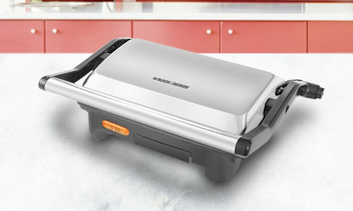 Spectrum Brands: $12.990 en vez de $19.990 por máquina de panini Black & Decker con Spectrum Brands. Incluye despacho