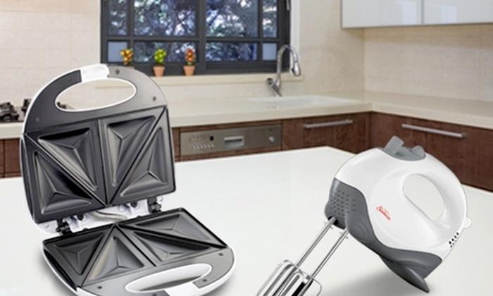 Oster: Paga $14.990 por sandwichera + batidora de mano marca Sunbeam con Oster®. Incluye despacho