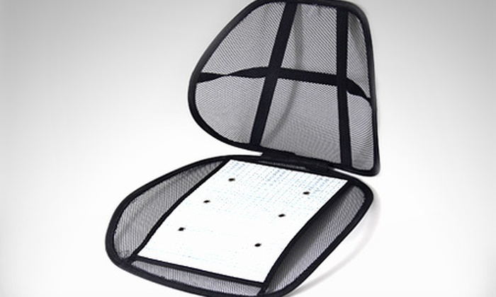 Rob accesorios groupon del d a groupon for Cojin para silla de oficina