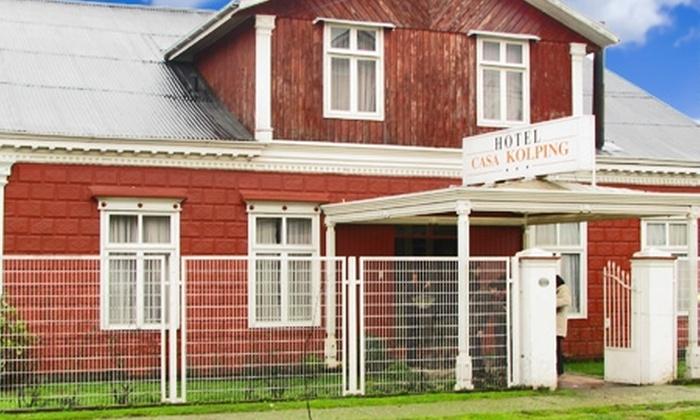 Hotel Kolping Valdivia - Hotel Kolping Valdivia: Paga desde $35.000 por 2, 3 o 5 noches para dos + desayunos + botella de vino en Kolping Valdivia