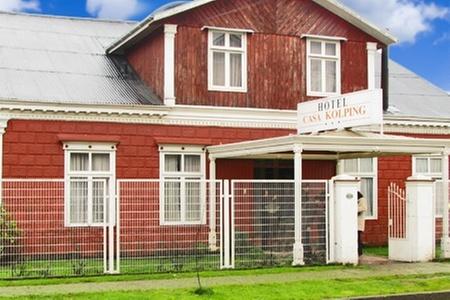 Hotel Kolping Valdivia: Paga desde $35.000 por 2, 3 o 5 noches para dos + desayunos + botella de vino en Kolping Valdivia